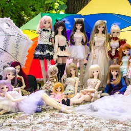 Toronto Doll Meet 13.7: Edwards Garden