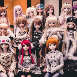 Toronto Doll Meet 15.1: First Meet of the Year